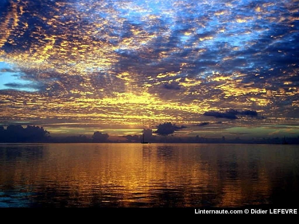 fond d'ecran coucher de soleil