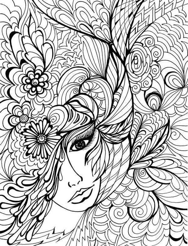 Coloriages zen pour adultes page 9 - Zen coloriage ...