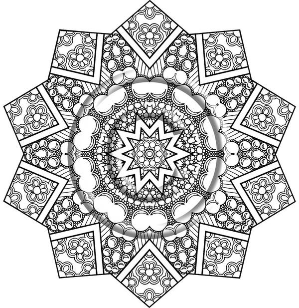 Coloriages zen pour adultes page 11 - Zen coloriage ...