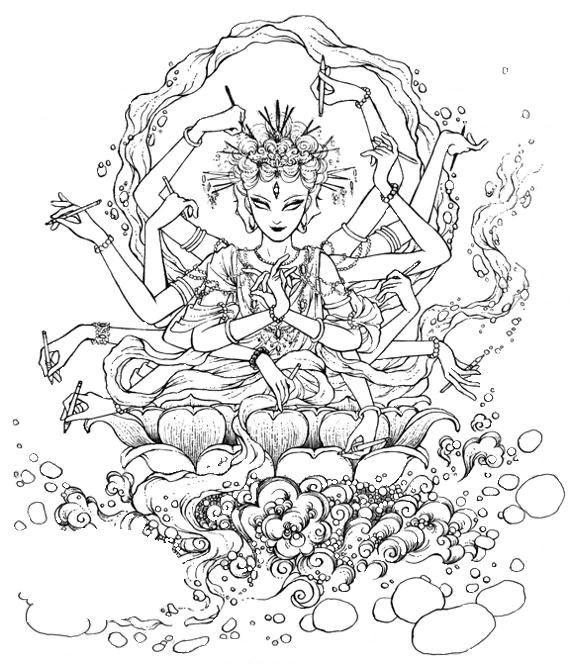 Coloriages zen pour adultes page 9 - Coloriage pour adulte ...